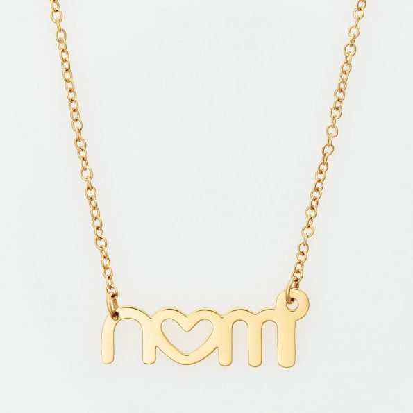 nomi necklace vergoldet