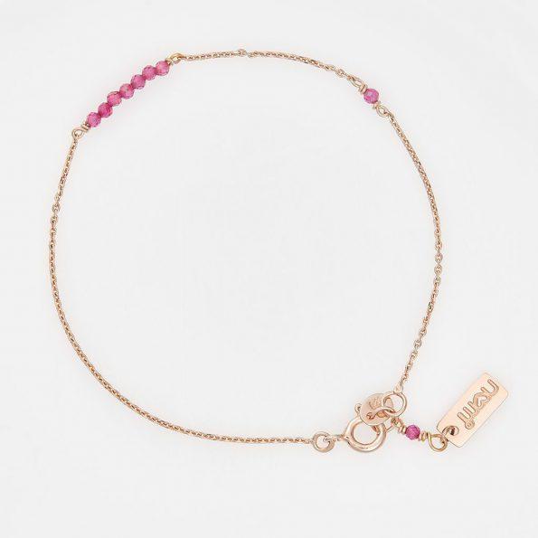 nomi-sterling-silber-edition-armkettchen-18K-rosévergoldet